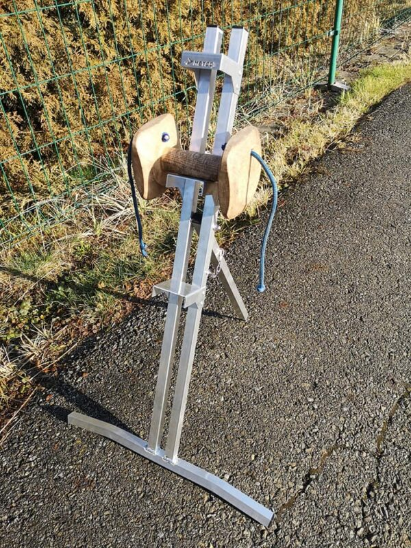 Aluminiowy stojak na aporty